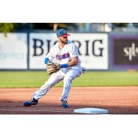 Ottawa Champions make a play in the field