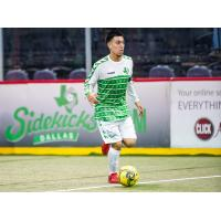 Dallas Sidekicks midfielder Gustavo Piedra