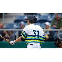 Everett AquaSox center fielder Billy Cooke