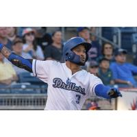 Jared Walker recorded a hit in the Tulsa Drillers 7-3 loss to Midland on Monday night at ONEOK Field