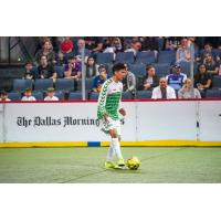 Dallas Sidekicks midfielder RJ Luevano