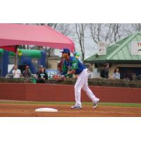 Jeison Guzman of the Lexington Legends