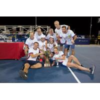 The Stripes took the trophy, but charity won the night at the 7th-annual Washington Kastles Charity Classic