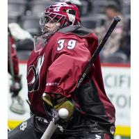 Steve Fryer with the Colorado Mammoth