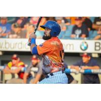 Luis Guillorme collected two hits and three RBIs on Saturday night for the Syracuse Mets