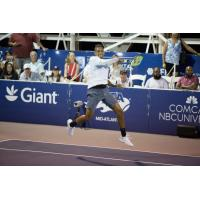 Nick Kyrgios of the Washington Kastles clinched the victory over Lopez-Perez in extended play