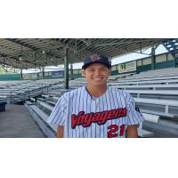 Great Falls Voyagers pitcher Avery Weems
