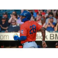 Rymer Liriano had two doubles and two RBIs on Thursday night for the Syracuse Mets