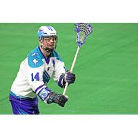 Rochester Knighthawks forward Pat Saunders