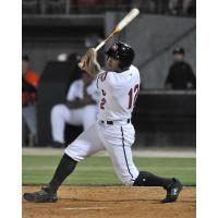 Trent Grisham with the Carolina Mudcats
