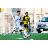Cam Lindley of Memphis 901 FC vs. Pittsburgh Riverhounds SC