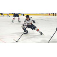Defenseman Jordan Klimek with the Kansas City Mavericks