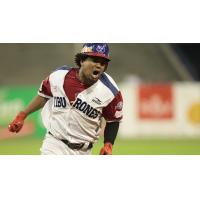 Outfielder Teodoro Martinez in the Mexican League
