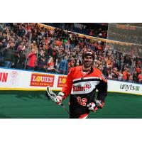Buffalo Bandits forward Dallas Bridle