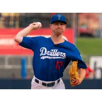 Ryan Moseley worked 1.2 scoreless innings serving as the opener for the Tulsa Drillers in their victory over Springfield Monday night