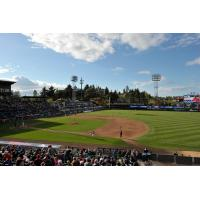 Cheney Stadium, home of the Tacoma Rainiers