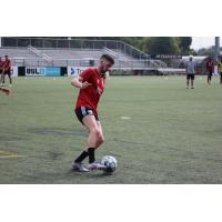 Scottish Forward Greg Hurst training with Chattanooga Red Wolves SC