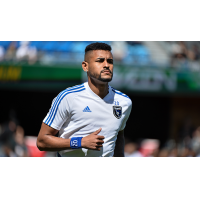 San Jose Earthquakes midfielder Anibal Godoy