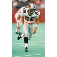 Receiver Darren Flutie with the BC Lions