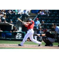 Chris Mariscal homers for the Tacoma Rainiers