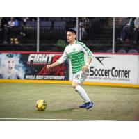 Dallas Sidekicks defender Jonathan Segura