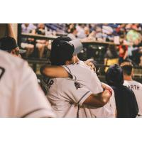 St. Cloud Rox exchange hugs as the season nears its close