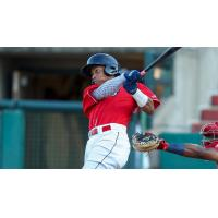 Lakewood BlueClaws with a big swing
