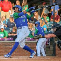 Rubendy Jaquez of the Lexington Legends