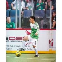 Dallas Sidekicks midfielder Andy Ordonez