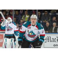 Kelowna Rockets defenseman Dalton Gally