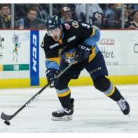 Forward Chris Crane with the Toledo Walleye