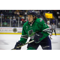 Forward Shane Walsh with the Florida Everblades
