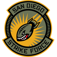 New San Diego Strike Force logo