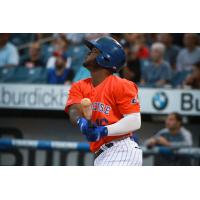 Dilson Herrera hit two home runs on Thursday night in the Syracuse Mets' win against Durham