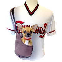 El Paso Chihuahuas GECU Bark at the Park jersey front
