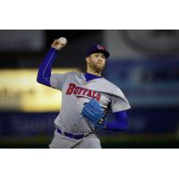 Buffalo Bisons pitcher T.J. Zeuch