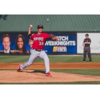 Carolina Mudcats pitcher Noah Zavolas