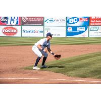 Nolan Jones wtih the Lynchburg Hillcats