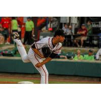 Down East Wood Ducks pitcher Sal Mendez