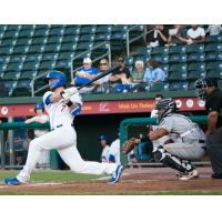 Chase Harris of the Rockland Boulders