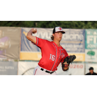 Jake Irvin of the Hagerstown Suns worked six scoreless frames in Sunday's win