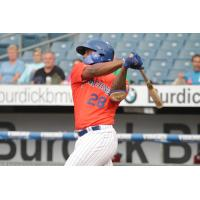 Rymer Liriano homered for the Syracuse Mets on Tuesday night