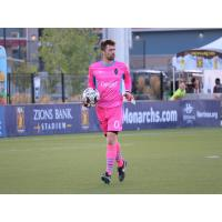 Adam Hobbs was Las Vegas Lights FC's starting goalkeeper for the second match in a row