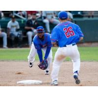 Marcos Almonte of the Rockland Boulders