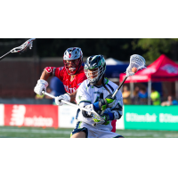 Lyle Thompson of the Chesapeake Bayhawks vs. the Boston Cannons