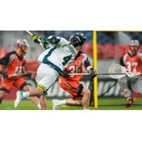 Lyle Thompson takes a shot for the Chesapeake Bayhawks