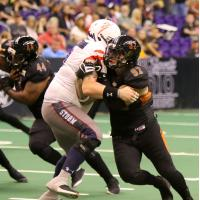 Arizona Rattlers defensive lineman Nikolaus D'Avanzo