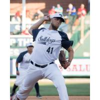 Lincoln Saltdogs pitcher John Brownell