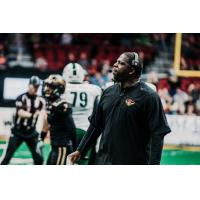 Iowa Barnstormers Head Coach Dixie Wooten