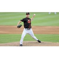 Long Island Ducks pitcher Brian Matusz